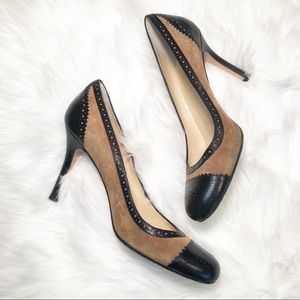 Kate Spade Suede and Leather Heels